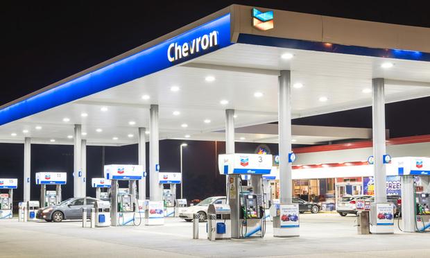 Chevron station