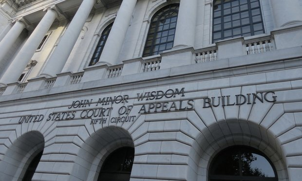 U.S. Court of Appeals for the Fifth Circuit in New Orleans.
