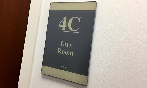 Jury Room. Photo: Diego M. Radzinschi/ALM