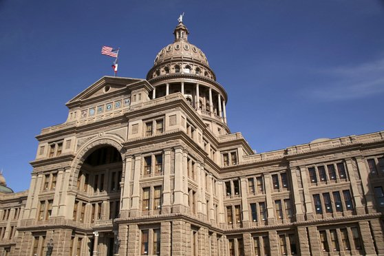 Texas Capitol building in Austin Texas. Photo: Clayton Harrison/Shutterstock.com