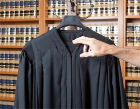 Judge's robe