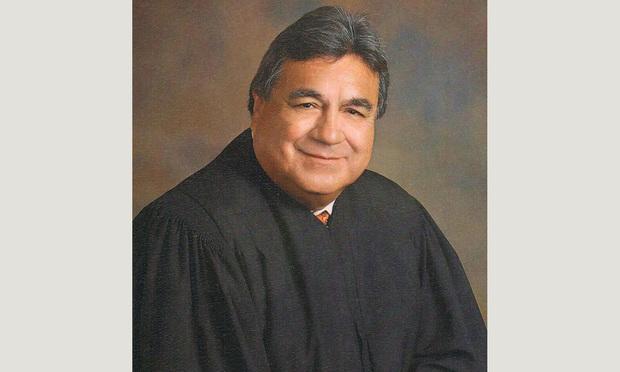 Judge Rudy Delgado of Hidalgo County's 93rd District Court.