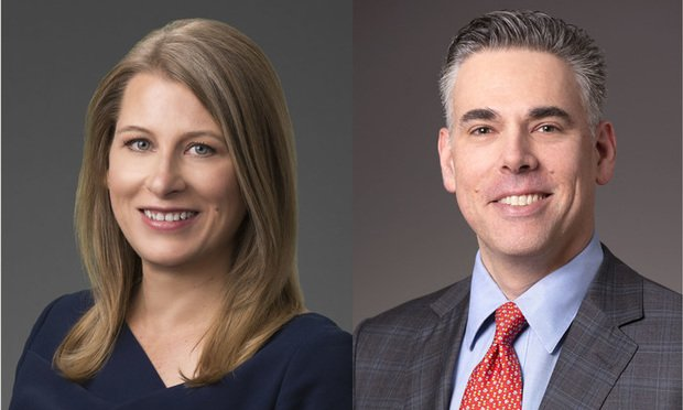 Jessica Adkins and Ron Erlichman of Sidley Austin.