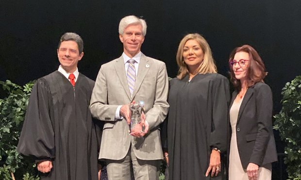Law School Honored with Service Award