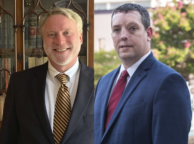 Mitch Adams, left, and Jarad Kent, right.