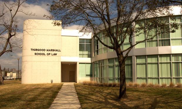 Texas Southern University Thurgood Marshall School of Law in Houston.