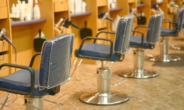 empty hair salon
