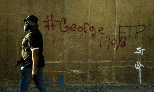 George Floyd protest picture
