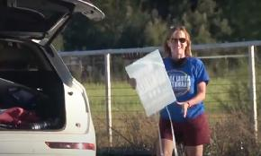 Watch the Video: Judge Caught on Camera Stealing Political Opponent's Sign