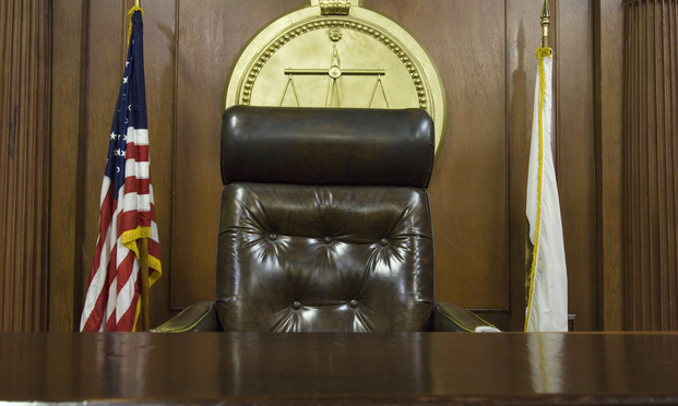 judge's bench. photo: Shutterstock