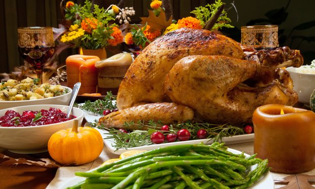 Thanksgiving Dinner. Photo: Shutterstock