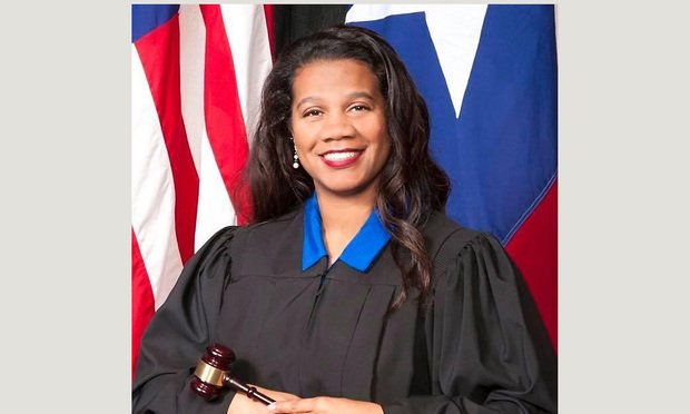 Fredericka Phillips, Judge, 61st District Court Harris County, Houston.Courtesy Photo