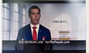 Morgan & Morgan Drops False Advertising Fight With Phila Firm