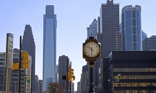Philadelphia Skyline from 30th Street