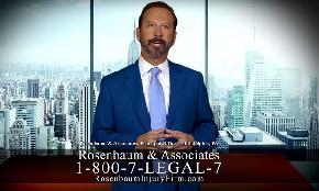 Rosenbaum Attacks Morgan & Morgan in TV Ad