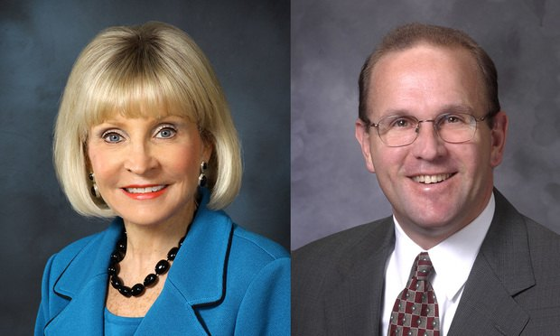 Diane Welsh and Jerry Roscoe, JAMS mediators and arbitrators