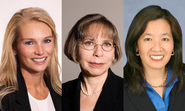 Christiane Campbell, Gretchen Temeles, and Vicki Norton of Duane Morris