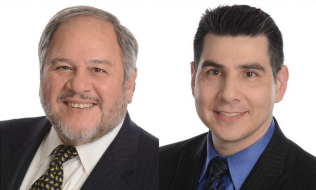 Anthony S. Volpe,left, and Michael F. Snyder,right, of Volpe and Koenig.