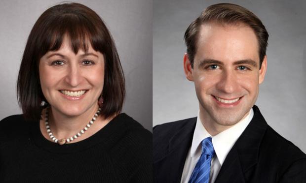 Donna Doblick and Joshua Newborn, Reed Smith