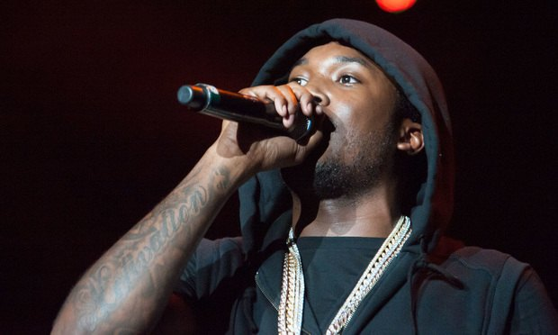 Rapper Meek Mill celebrates prison release with visit to National Basketball Association play-off