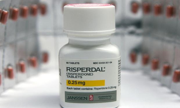Risperdal bottle