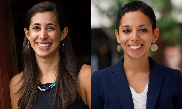 Left to rigth: Lauren Fine and Joanna Visser Adjoian, co-founders and co-directors of the Youth Sentencing & Reentry Project (YSRP)