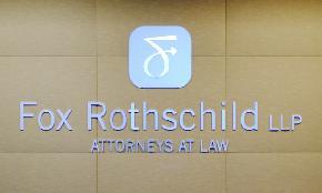 Fox Rothschild Grows Revenue on Bigger Footprint