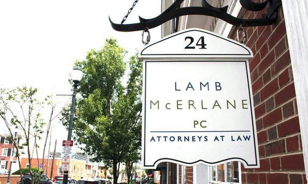 Lamb McErlane Absorbs 5-Lawyer Delco Boutique The merger added to Lamb McErlane's regional footprint and brings higher education clients to the firm.