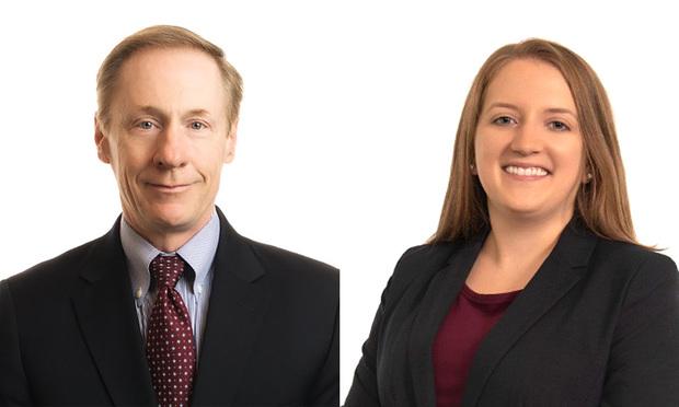 Francis J. Lawall and Marcy J. McLaughlin of Pepper Hamilton. (Photo: Courtesy Photo)