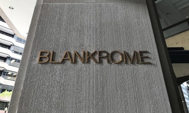 Blank Rome Sees Incremental Gains, C-Suite Changes in 2018