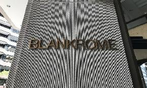 Blank Rome Sees Incremental Gains C Suite Changes in 2018
