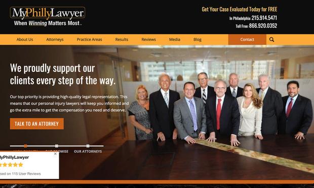 MyPhillyLawyer Website