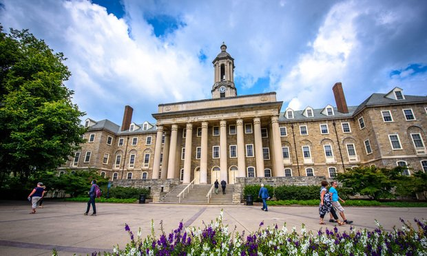 the campus of Penn State University