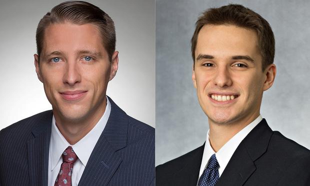 Ian M. Livaich and Igor Pleskov of Saul Ewing Arnstein & Lehr (Photo: Courtesy Photo)