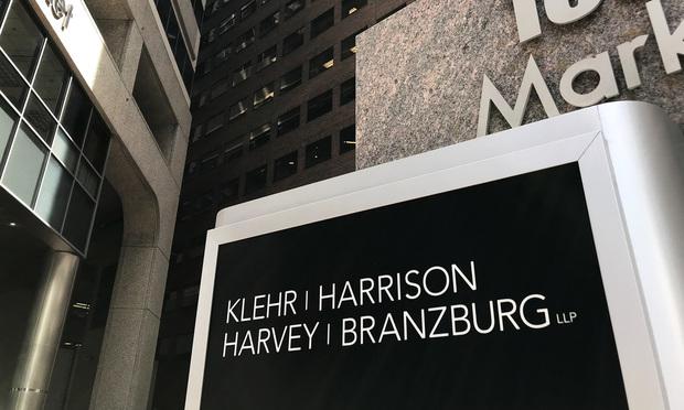 Klehr Harrison office