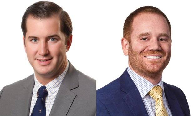 Patrick J. Cummings & Edward D. Barket Jr. of Weber Gallagher Simpson Stapleton Fires & Newby