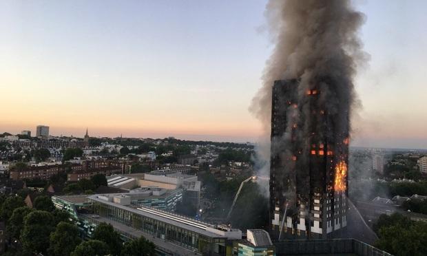 Grenfell Tower fire.