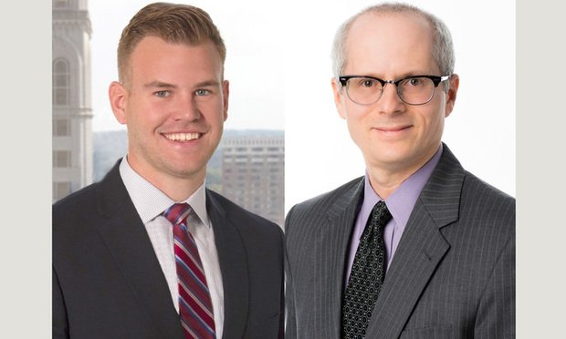 Ellis W. Martin, left, and Joshua Horn, right, of Fox Rothschild.