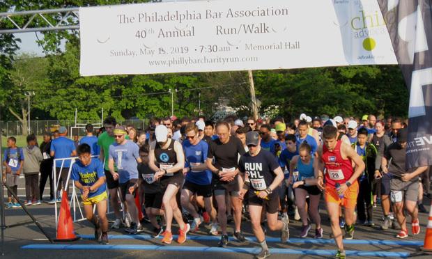 Philadelphia Bar Association's 40th annual Run/Walk
