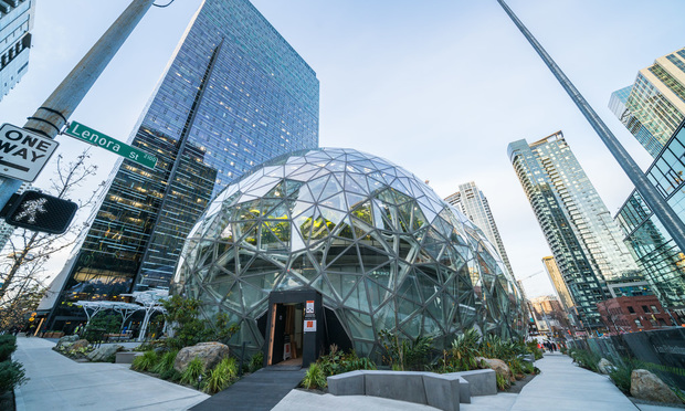 Amazon's Seattle headquarters.