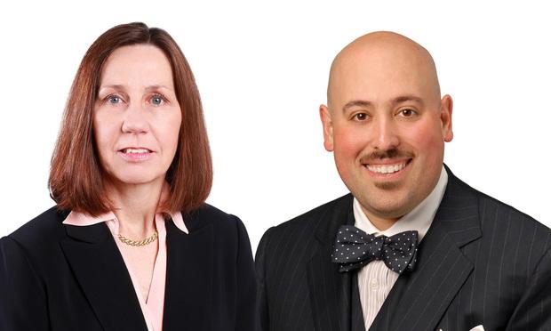 (Left to right) Karen Davis and Dan Reiter Fox Rothschild (Photo: Courtesy Photo)