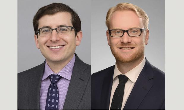 Peter A. Jaslow, left, and Paul D. Hallgren Jr., right, of Ballard Spahr.