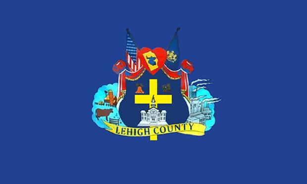 Lehigh County, Pennsylvania, flag.