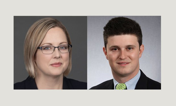 Carly Loomis-Gustafson,left, and Brian D. Lipkin,right, of Babst Calland Clements & Zomnir.