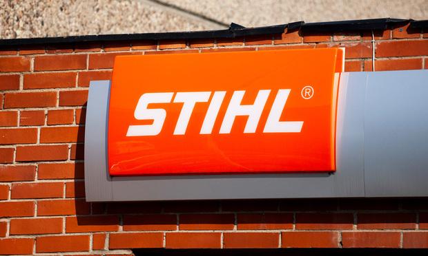 Stihl dealership sign