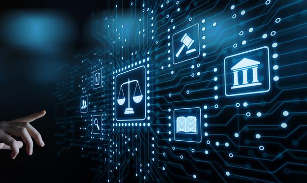 legal technology concept