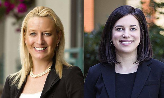 Kimberly Selemba, left, and Alexandra Sacavage, right, of McNees Wallace & Nurick.