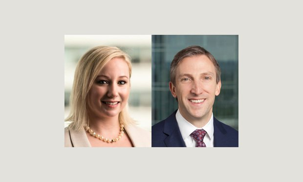 Jessica L. Mazzeo of Griesing Law and James L. Cornell of Shook, Hardy & Bacon...