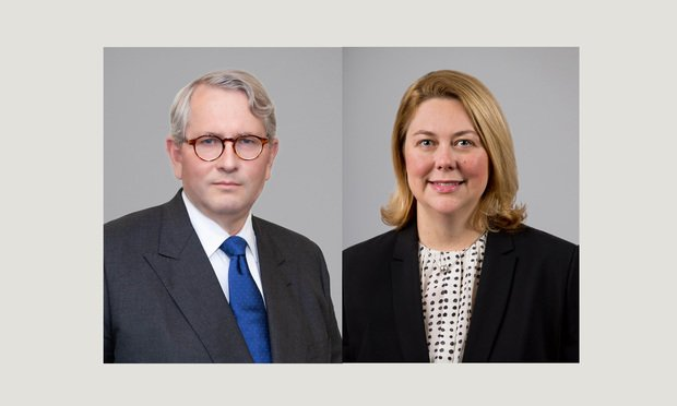 Carl W. Hittinger, left, and Ann O'Brien,right, of Baker Hostetler.