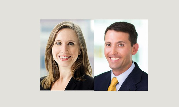 Kristin Keehan and Stephen Miller, Cozen O'Connor